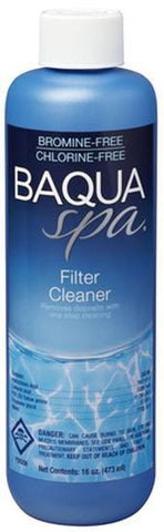Baqua Spa Chemicals - Filter Cleaner 16 oz - Yardandpool.com