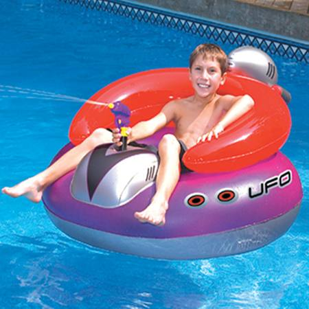 "UFO 45"" Spaceship Pool Squirter"