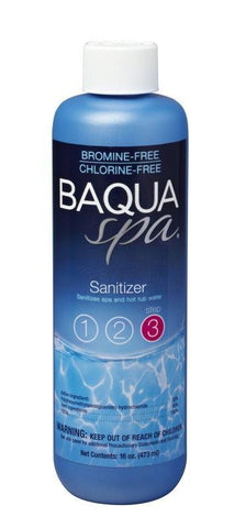 Baqua Spa Sanitizer - 1 pt - Yardandpool.com