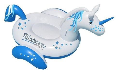 Giant Unicorn Swimming Pool Float - Yardandpool.com