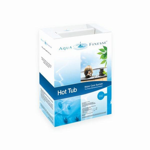 AquaFinesse Hot Tub and Spa Full Kit - Trichlor