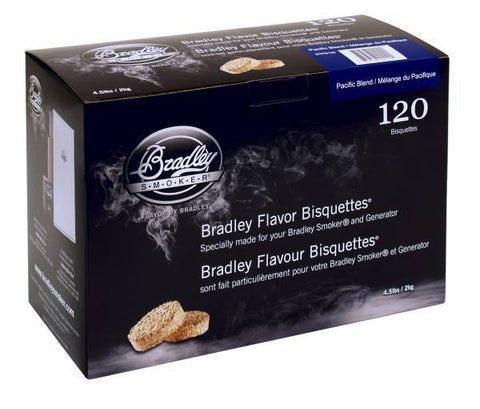 Bradley Smoker Bisquettes 120 Pack - Pacific Blend