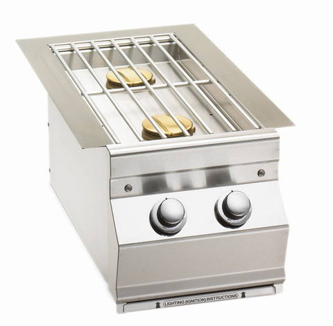 Fire Magic Built-In Double Side Burner - Propane - Yardandpool.com