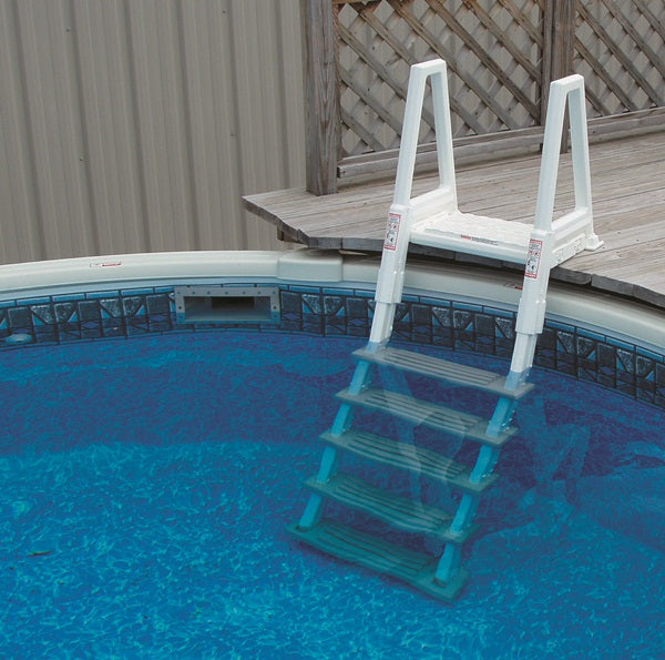 Confer Deluxe Heavy Duty Above-Ground In-Pool Ladder