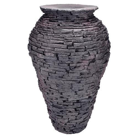 Aquascape Large Stacked Slate Urn 98940