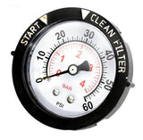 Back Mount Pressure Gauge - PG3024B