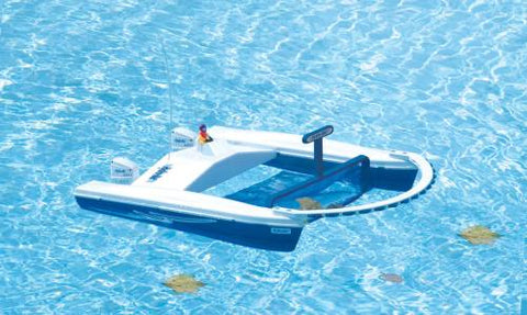 Hydro Net Remote Control Pool Skimmer Boat