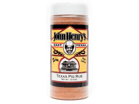 John Henry's Texas Pig Rub - 11.5 oz.