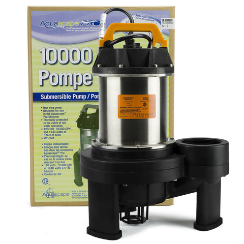 Aquascape Aquascape Pro 10000 Pond Pump 20006 - Yardandpool.com
