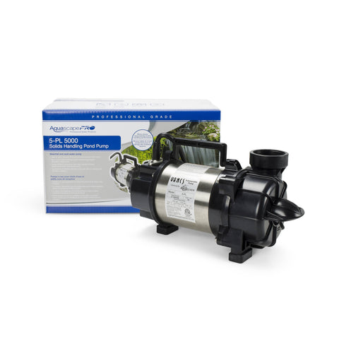 Aquascape 5-Pl 5000 Solids-Handling Pond Pump 29976 - Yardandpool.com
