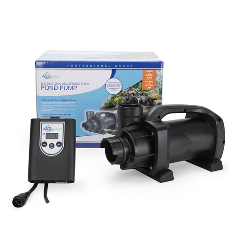 Aquascape Sld 5000-9000 Adjustable Flow Pond Pump 45037 - Yardandpool.com