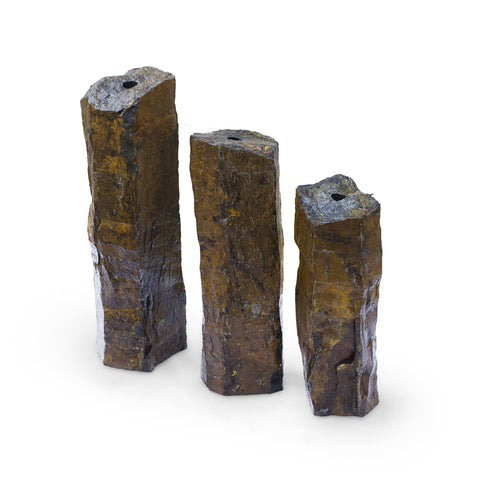 Aquascape Natural Mongolian Basalt Columns Set Of 3 58062