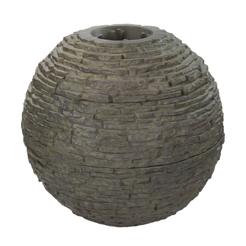 Aquascape Large Stacked Slate Sphere 78289