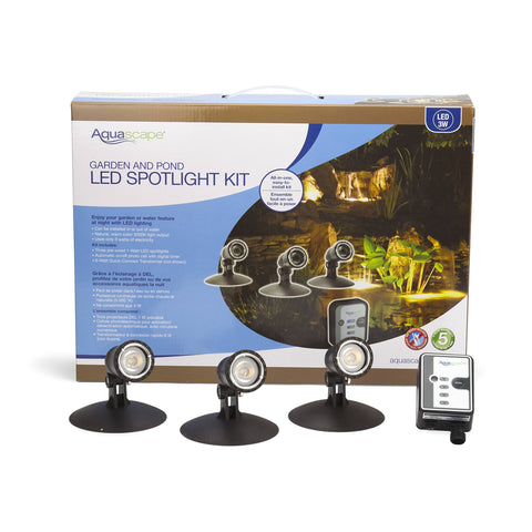 Aquascape Garden And Pond Led Spotlight Kit 84030 - Yardandpool.com
