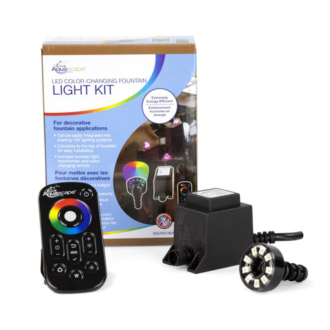 Aquascape Led Color-Changing Fountain Light Kit 84055 - Yardandpool.com