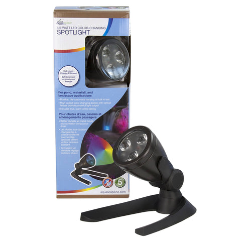 Aquascape 4.5-Watt Led Color-Changing Spotlight 84059 - Yardandpool.com