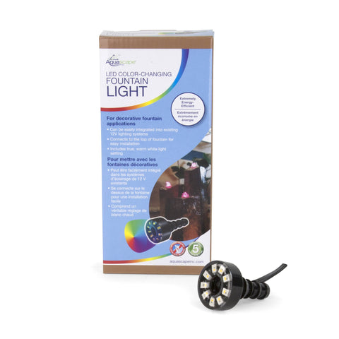 Aquascape Led Color-Changing Fountain Light 84072 - Yardandpool.com