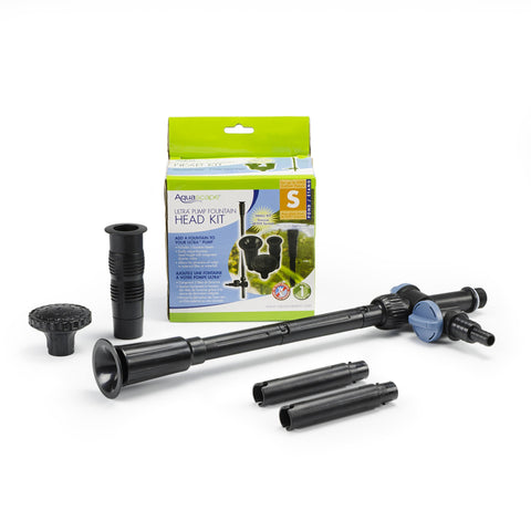Aquascape Small Ultra Pump Fountain Head Kit 91045 - Yardandpool.com