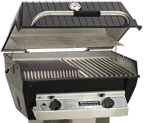 Broilmaster Grills Infrared Burner & Blue Flame Combo R3B Series Gas Grill