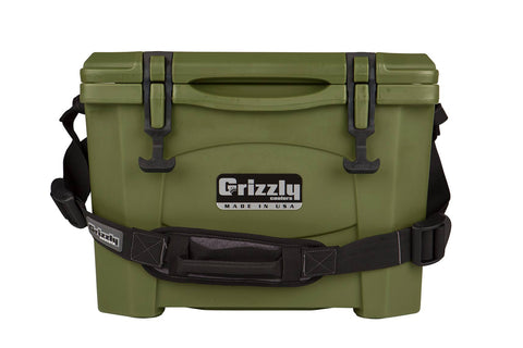 Grizzly 15 Cooler - OD Green