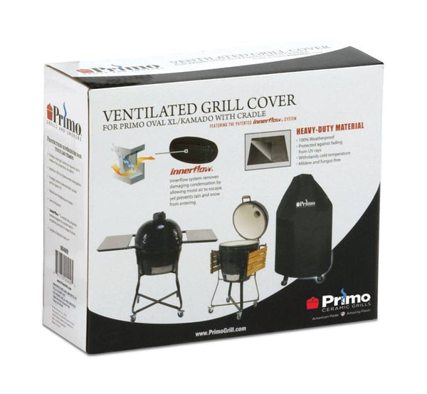 Primo Grill Cover for Oval XL 400 or Kamado in Table