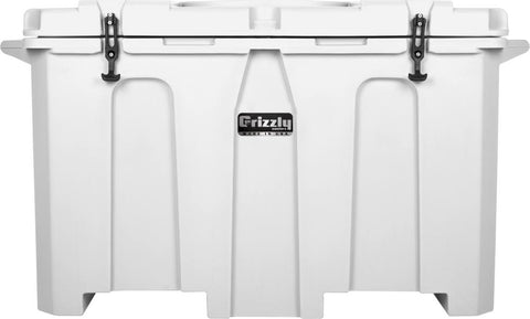 Grizzly 400 Cooler - White