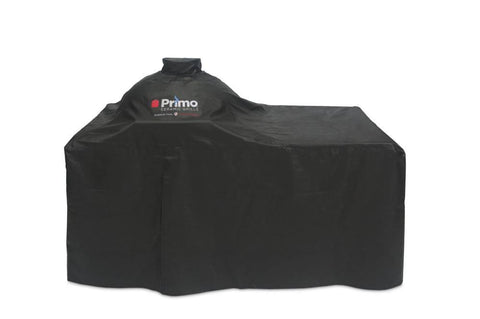 Primo Grill Cover for Oval Large 300 and Oval JR 200 in Counter Top Table - Yardandpool.com