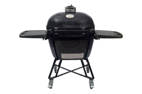 Primo Grills Oval XL 400 ALL-IN-ONE Ceramic Grill - Yardandpool.com