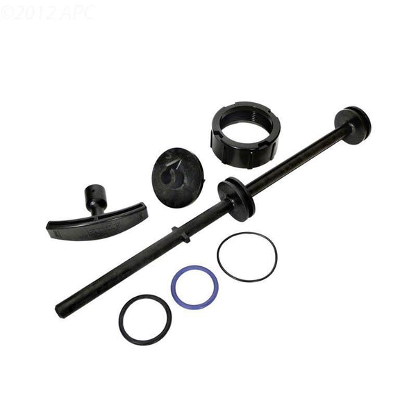 Shaft Kit, includes Shaft, Handle, Roll Pins, Index Plate/Lid, Lid Union Nut, O-Rings for Lid, Shaft