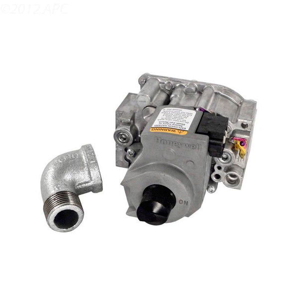 Gas Valve, Natural Gas, w/Street Elbow