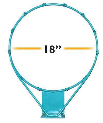 Swimming Pool Basketball Rim - 18""