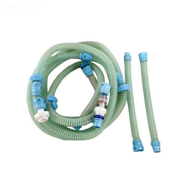 12' Hose Assembly Complete - White