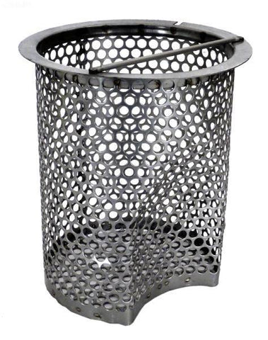Basket, s/s strainer, 3 full