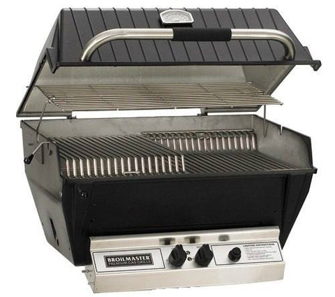 Broilmaster Grills Premium P3X Series Gas Grill w/ Charmaster Briquets