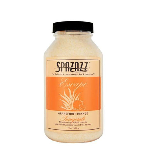 Spazazz Escape Crystals Grapefruit Orange - 22 oz