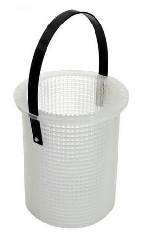 Basket w/handle, 700 plastic