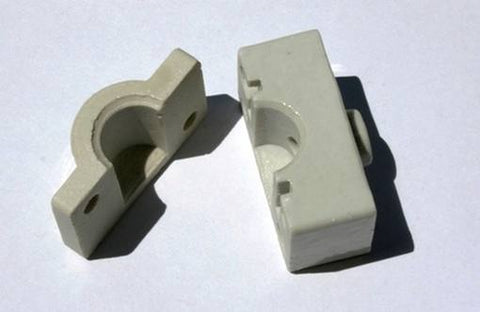 Bradley Smoker Replacement Porcelain Insulator - Set of 2
