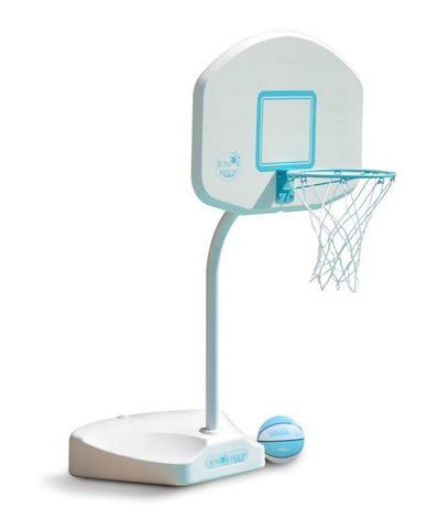 Junior Hoop Portable Swimming Pool Basketball Hoop - Stainless Steel Rim - Yardandpool.com
