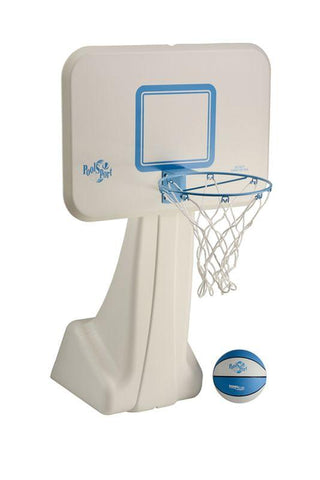 Pool Sport Portable Swimming Pool Basketball Hoop - Stainless Steel Rim - Yardandpool.com