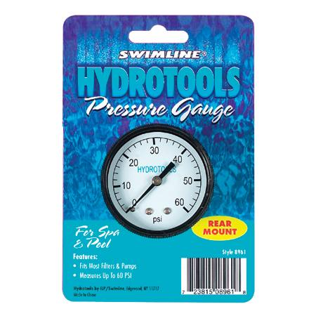 Pressure Gauge - Rear Mount
