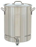Bayou Classic Stainless Steel 16 Gallon Stockpot w/ Spigot