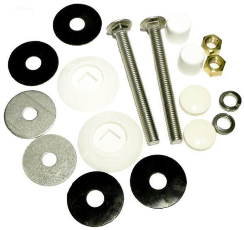 "Resi Bolt Kit, S/S 1/2""X5"""