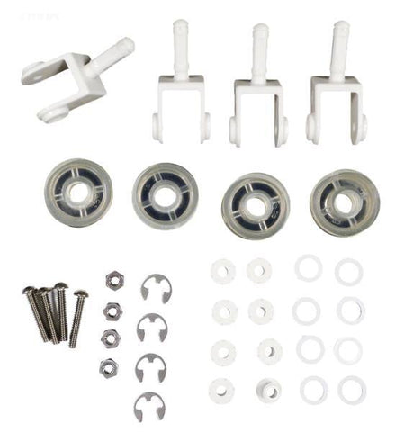 #250 Replacement kit, 4 each, #177 wheels, #263 casters, #264 axle assembly, #267 clips