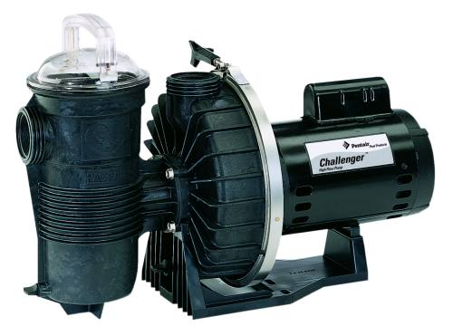 Pentair Challenger High Flow Standard Efficient Single Speed Up Rated Pool Pump - 1 HP