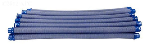 Twist Lock Hose - 1 Meter, Blue/Gray, 12/pack - Yardandpool.com