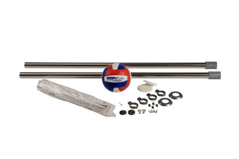 "Deck Volly Stainless Swimming Pool Volleyball Set - Fits 2-3/8"" Anchors - Yardandpool.com"