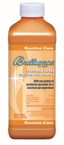Brilliance for spas Metal & Scale Control with Soy Protein - 16 oz