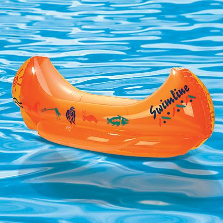 Canoe Inflatable Pool Float