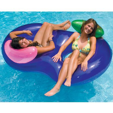 Side by Side Inflatable Lounger