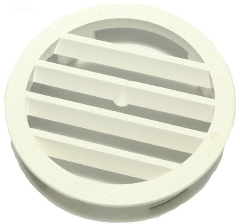 Wall Fitting Grate, White